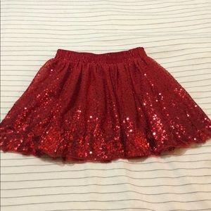 Cat & Jack sequin skirt
